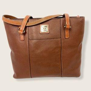 Dooney Burke Large Lexington Leather Shopper Tote
